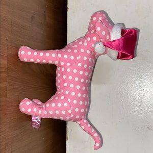 Pink Christmas Victoria secret dog